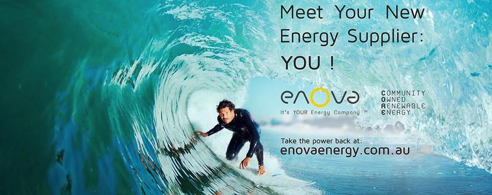 Enova - community owned renewable energy retailer